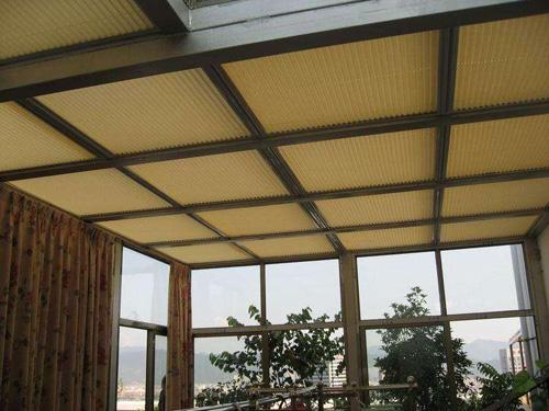 蜂巢帘天窗-1002