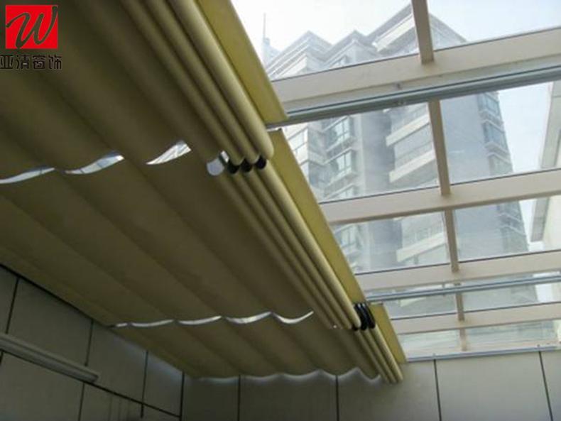 万博体育manbetx3.0折叠式天棚帘-1002